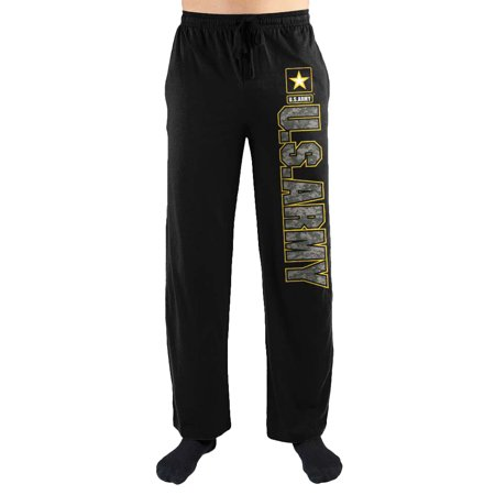 - Army Camo Logo Print Men's Loungewear Lounge Pants Medium