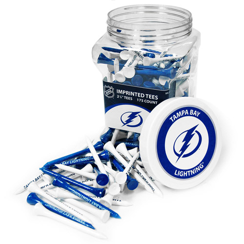 Team Golf NHL Tampa Bay Lightning Jar Of 175 Golf Tees