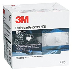 N95 Particulate Respirators - 8511 particulate respirator n95 pro packaged