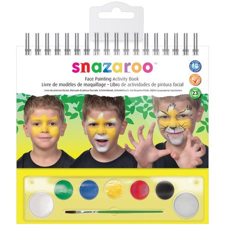 Halloween Art And Crafts Activities (Snazaroo Face Painting Activity)