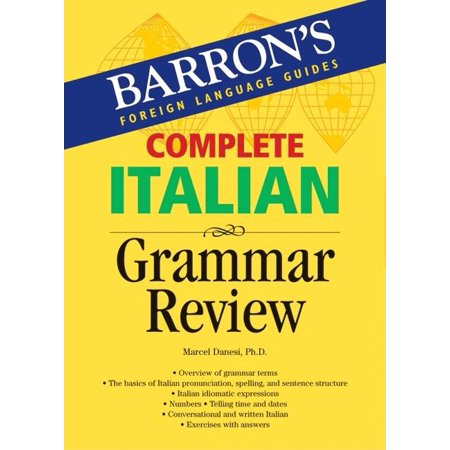 Complete Italian Grammar Review - Grammar Review Games