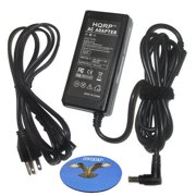 HQRP AC Adapter for Samsung SyncMaster 170mp 173B 192mp BX2331 S20A350B S22A100N S22A300B S23A350H S24A350H S27A350H FX2490HD TFT LCD Monitor Power Supply Cord Adaptor Sync-Master + HQRP Coaster