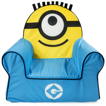 Marshmallow Furniture, Children's Foam Comfy Chair, Despicable Me Minions, by Spin Master ()