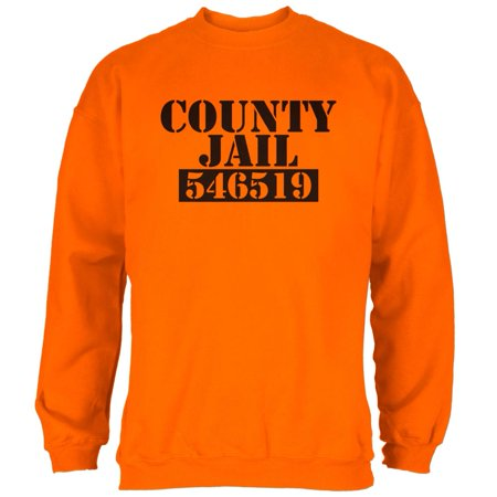 Halloween County Jail Inmate Costume Mens - Halloween Brevard County