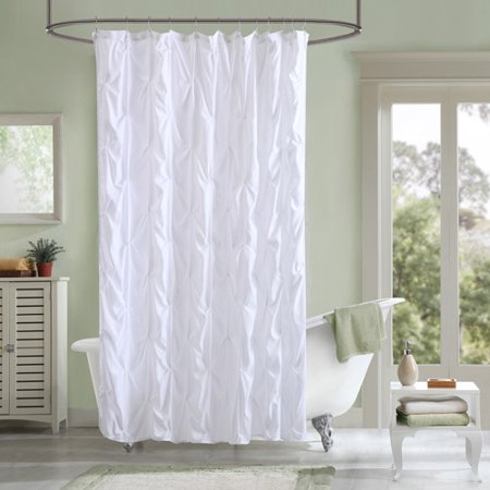 . Better Homes and Gardens Pintuck Shower Curtain   Walmart com
