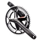 FSA, Gossamer Pro, Crankset, 11 sp., 170mm, 34/50T, BCD:110mm, Integrated 30mm axle, 386Evo ABS, 43.5mm, Noir