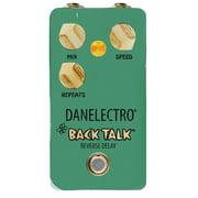 Danelectro Back Talk Reverse Delay Guitar Effect Pedal