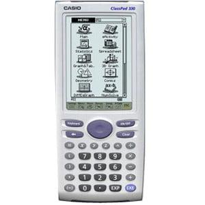Casio Classpad 330 Graphic Calculator   Pc Link   500 Kb  5 40 Mb   Ram  Flash   Lcd   160 X 240   Battery Powered   4   Aaa   0 8  X 3 3  X 7 5