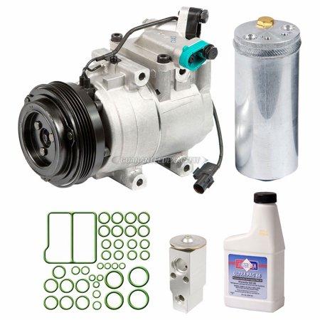 - AC Compressor w/ A/C Repair Kit For Kia Spectra 2000 2001 2002 2003 2004