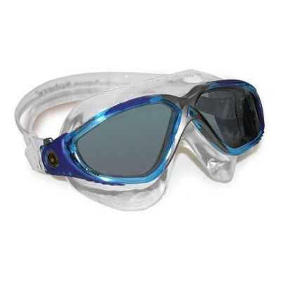- Aqua Sphere Vista Swim Mask, Trans/Aqua/Blue/Gray, Smoke