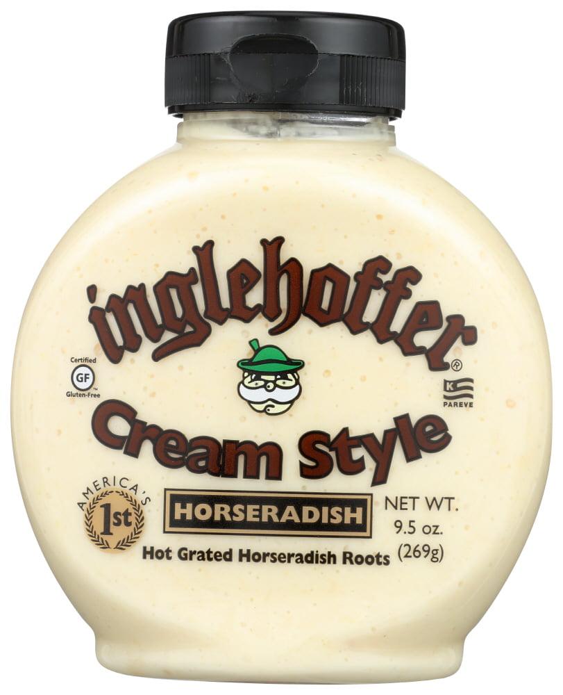 Inglehoffer Cream Style Horseradish 9 5 Oz Walmart Com Walmart Com