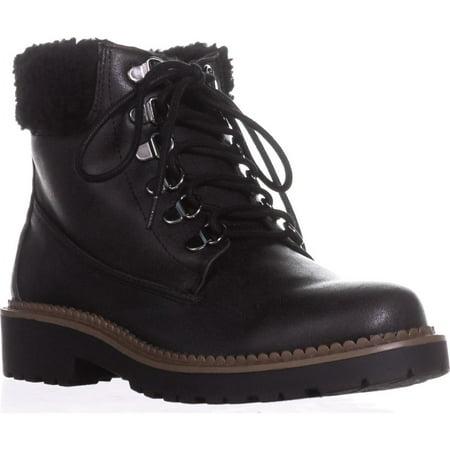 - Womens ESPRIT Candis Wool Cuff Work Boots, Black