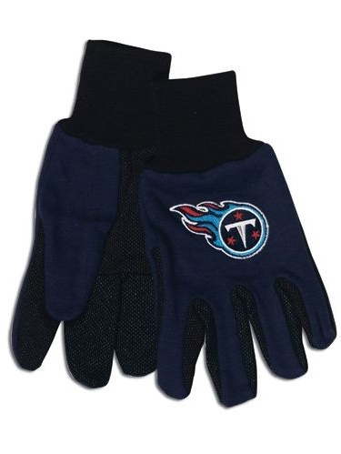 Tennessee Titans Two Tone Adult Size Gloves by Wincraft
