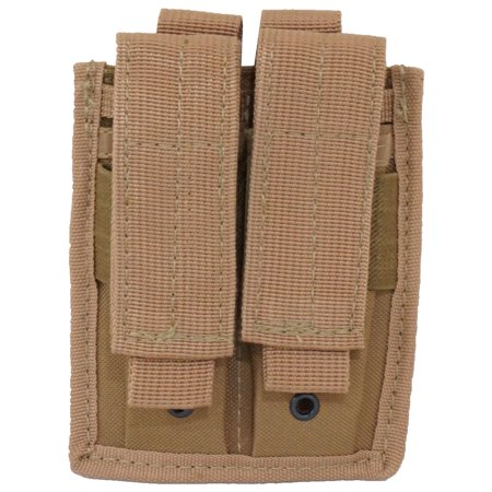 - Every Day Carry Tactical Velcro & MOLLE Double Pistol Magazine Pouch