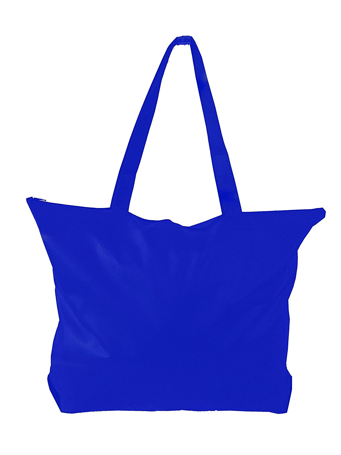 Zipper Tote Bag W Gusset Non Woven Large For Conference Trade Shows Ping 50 Red