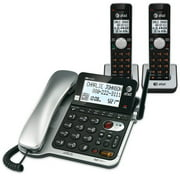 At&T Cl84202 Dect 6.0 Expandable Corded/Cordless Phone 2 Handsets