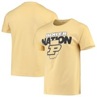 Men's Russell Athletic Gold Purdue Boilermakers Slogan T-Shirt