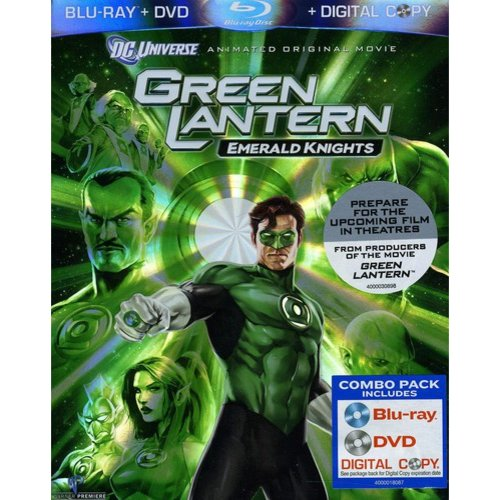 Green Lantern: Emerald Knights (Blu-ray) (Widescreen)