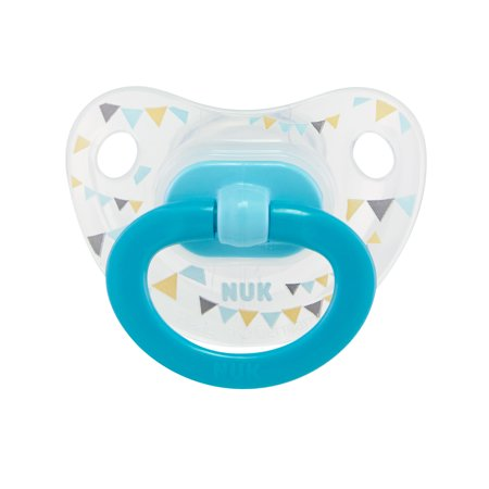 - NUK Orthodontic Pacifiers, Boy, 18-36 Months, 2-Pack