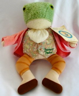 "11"" Jeremy Fisher from The Beatrix Potter Collection, One of the Beatrix Potter family. By Eden from USA by Eden Organic"