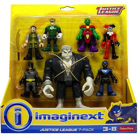 DC Imaginext Justice League 7-Pack Mini Figure Set [Solomon