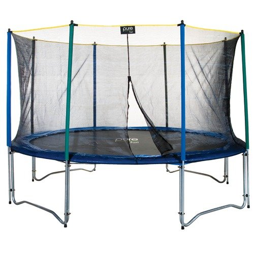 Pure Fun 12ft Round Trampoline Set