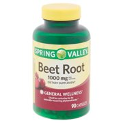 Spring Valley Beet Root Capsules, 1,000mg, 90 Count