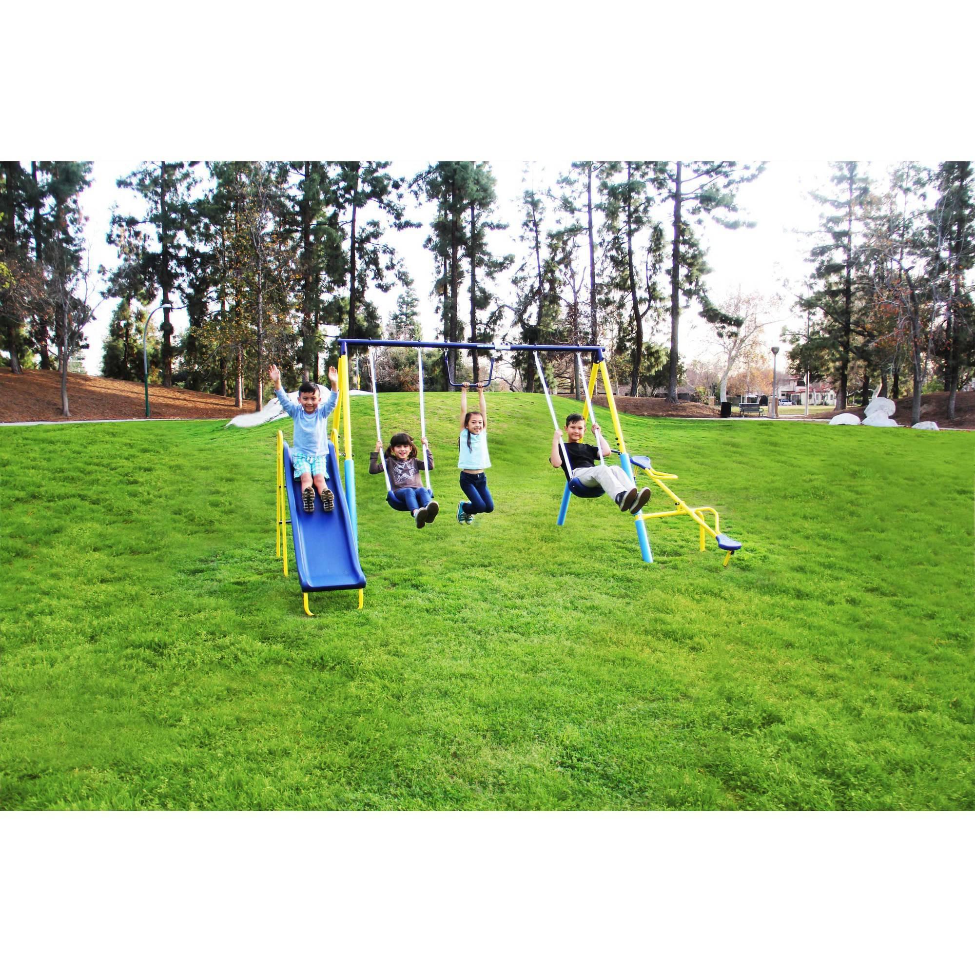 Sportspower Outdoor Super First Metal Swing Set