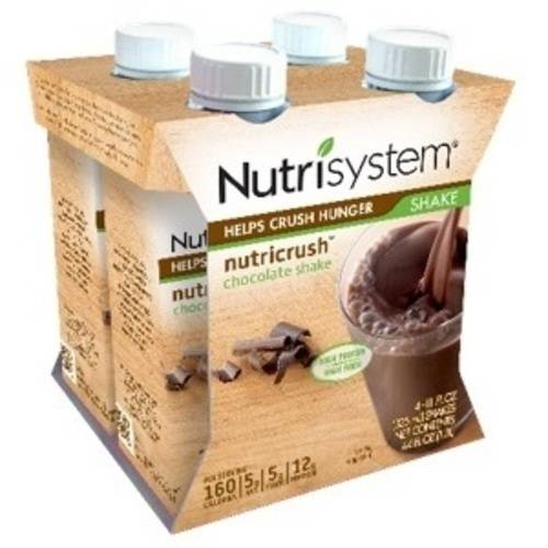 Nutrisystem Milk Chocolate Shakes, 11 fl oz, 4 count