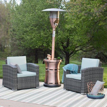 Red Ember Brunson Copper Plated Patio Heater