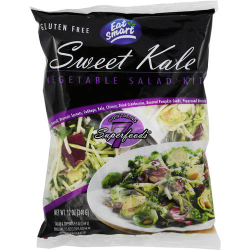 Eat Smart Sweet Kale Vegetable Salad Kit, 12 oz