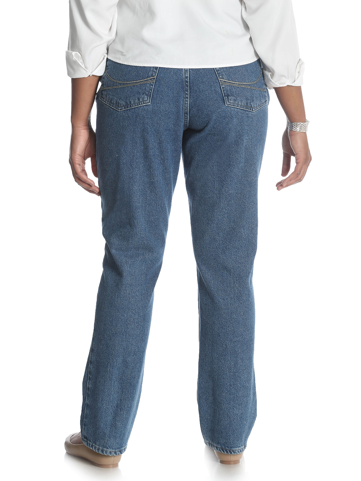 56157964995 Lee Riders - Lee Riders Women s Plus Relaxed Jean - Walmart.com