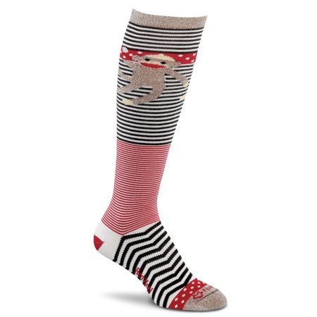 Fox River Monkey Swings Women`s Ultra-lightweight Knee-high Socks, FR-4584, Larg