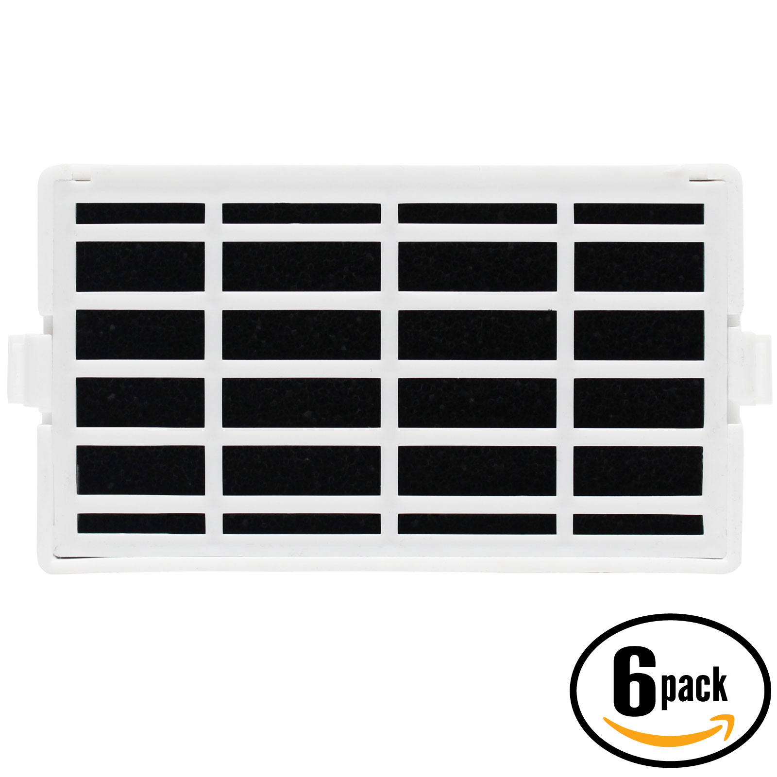6-Pack Replacement Maytag MFX2876DRM02 Refrigerator Air Filter - Compatible Maytag W10311524, AIR1 Fridge Air Filter - image 4 de 4