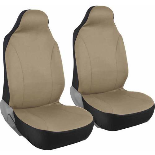 Front Pair of Bucket Seat Covers for Car, Rome Polyester Cloth