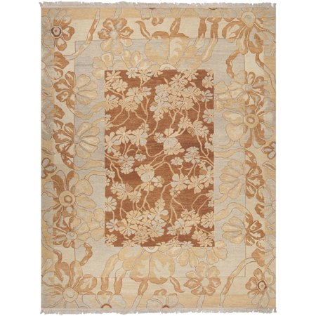 Transitional Cognac (Transitional Sonoma Collection Area Rug in Cognac and Oval, Rectangle, Round, Runner)