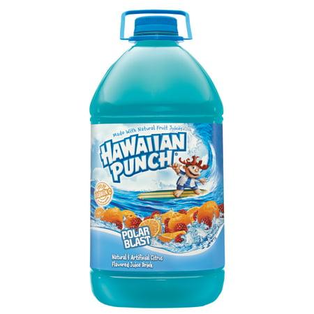 (2 Pack) Hawaiian Punch Juice, Polar Blast, 128 Fl Oz, 1 (Hawaiian Rum Drink)