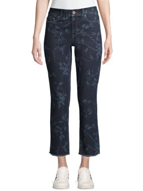 EV1 from Ellen DeGeneres Womens Straight Jeans, Maddy Military Floral