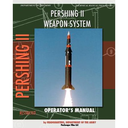 Pershing II Weapon System Operator