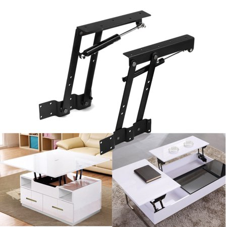 Furniture Frames Furniture Lift Up Top Coffee Table Lifting Frame Mechanism Hinge Hardware Accessories Fitting With Spring Folding Standing Desk Frame