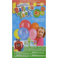 Helium Tank with Balloons Kit