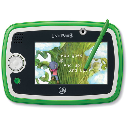 Refurbished LeapFrog 31500 LeapPad3 Kids' Learning Tablet with Wi-Fi, Green