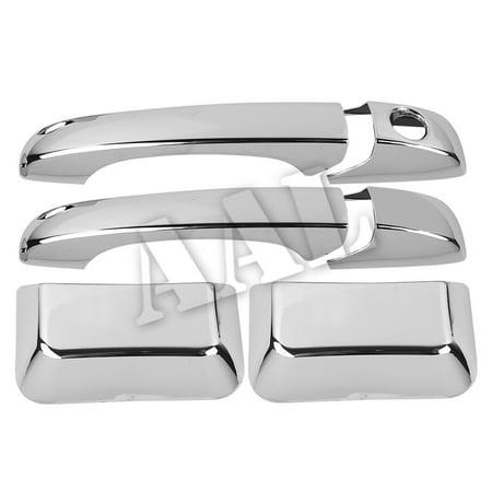 AAL Premium Chrome Door Handle Cover For 2011-2013 JEEP 11~13 COMPASS 4 DOOR HANDLE