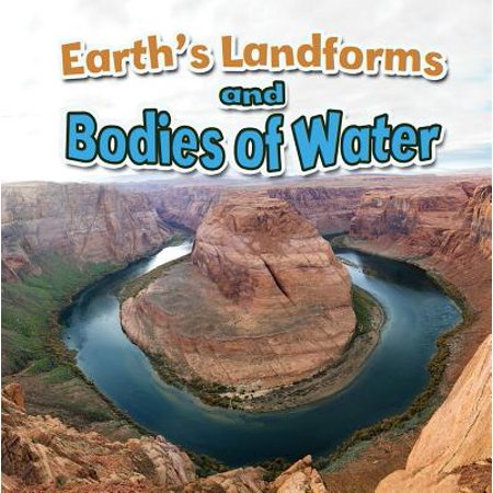 Earth's Landforms and Bodies of Water (Paperback)](Landform Games)
