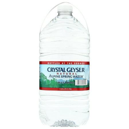 Crystal Geyser Alpine Spring Water, 1 Gal