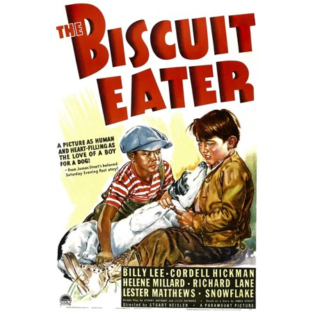 - The Biscuit Eater Stretched Canvas -  (11 x 17)