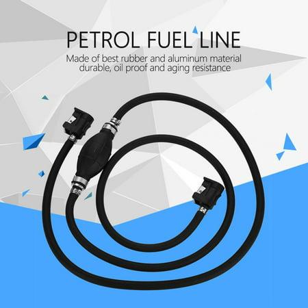WALFRONT Boat Fuel Pump Line Hand Primer Bulb Gas Outboard Petrol Fuel Line,Fuel Hand Pump,Primer Fuel Pump - image 3 of 7
