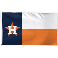 Houston Astros WinCraft Single-Sided 3' x 5' Deluxe Team Colors Flag