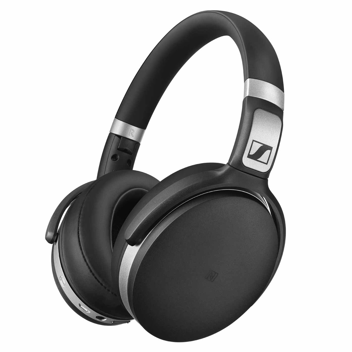 Sennheiser HD 4.50 Wireless Over-Ear Bluetooth Headphones with Noise Cancellation (Black)