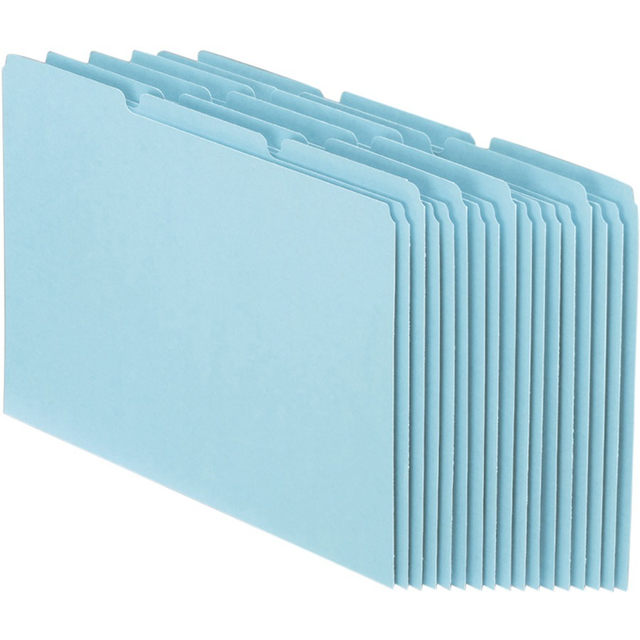 Pendaflex Blank Self Tab Pressboard File Guides by TOPS Products
